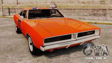 Dodge Charger 1969 General Lee v2.0 HD Vinyl para GTA 4