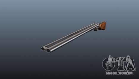 Rifle de caça TOZ cano duplo BM-16 para GTA 4