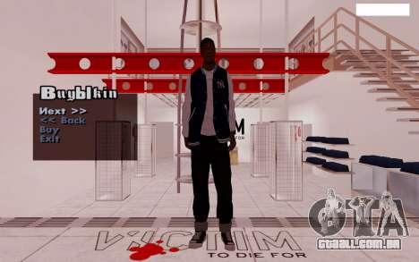 HD Pak Skins vagabundos para GTA San Andreas sexta tela