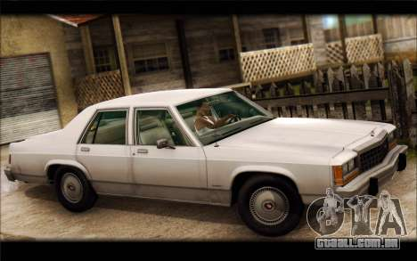 Ford LTD Crown Victoria 1987 para GTA San Andreas