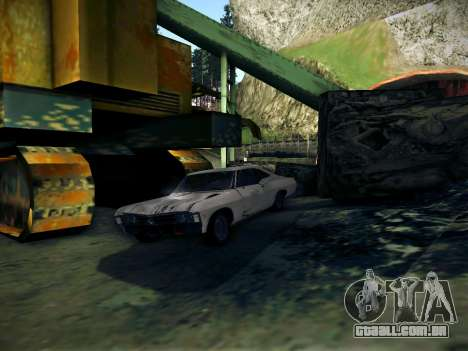 Playable ENB by Pablo Rosetti para GTA San Andreas segunda tela