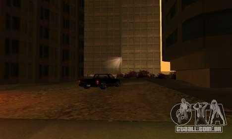 -Concluída a construção em San Fierro V1 para GTA San Andreas por diante tela