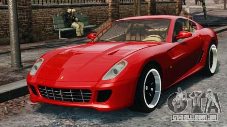 Ferrari 599 GTB Hamann 2006 para GTA 4 vista de volta