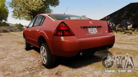 Pinnacle Off-road para GTA 4 traseira esquerda vista