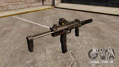 Pistola-metralhadora HK MP7 Sopmod para GTA 4 segundo screenshot