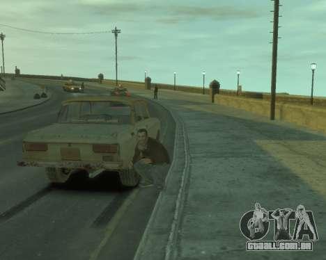 2140 AZLK s. l. a. t. k. e. R para GTA 4 vista direita