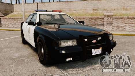 GTA V Police Cruiser [ELS] para GTA 4