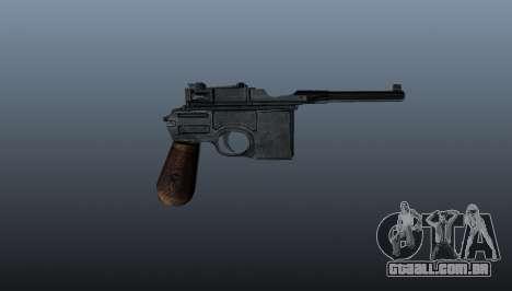 Carregamento automático pistola Mauser C96 para GTA 4 terceira tela