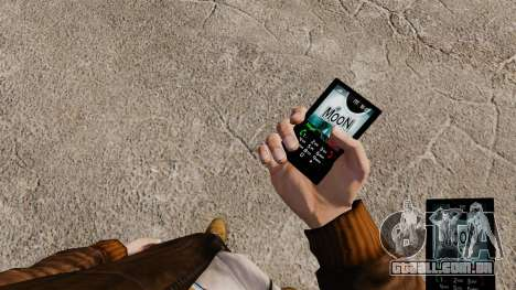 Tema da lua para o seu telefone para GTA 4