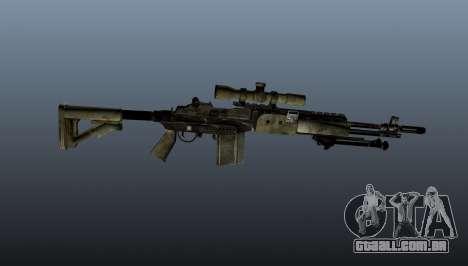 Rifle sniper M21 Mk14 v7 para GTA 4 terceira tela