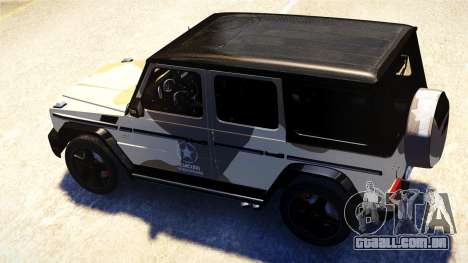 Mercedes-Benz G65 AMG 2013 para GTA 4 vista interior
