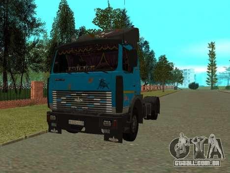 MAZ 54320 para GTA San Andreas