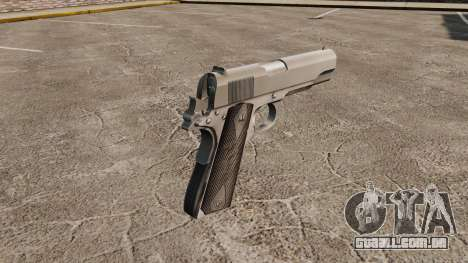 Colt M1911 pistola v3 para GTA 4 segundo screenshot