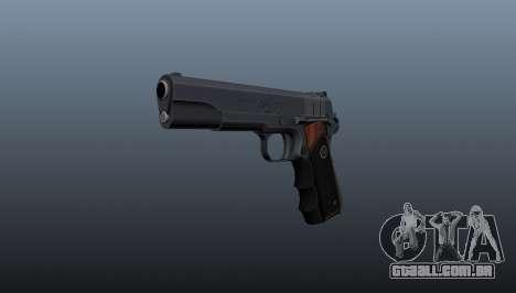 Pistola semi-automática Hitman Silverballer para GTA 4