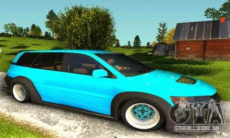 Mitsubishi Evo IX Wagon S-Tuning para GTA San Andreas esquerda vista