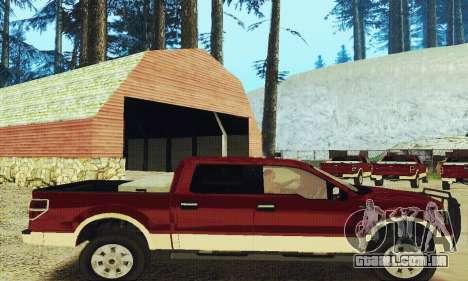 Ford F-150 KING RANCH Edition 2010 para GTA San Andreas vista direita