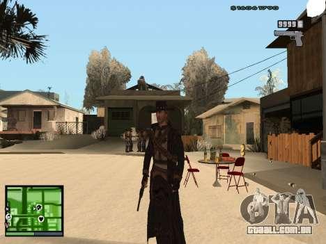 Ray Mccall de Call Of Juarez para GTA San Andreas segunda tela