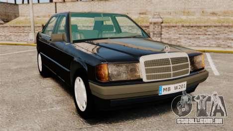 Mercedes-Benz E190 W201 para GTA 4