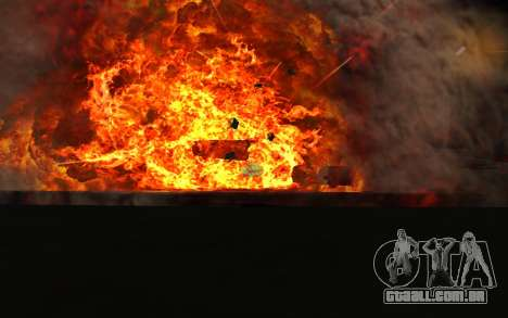 New Effects v1.0 para GTA San Andreas segunda tela
