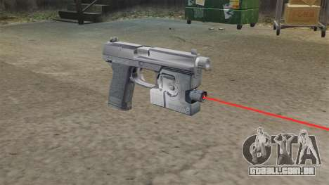H & K MK23 Socom pistola para GTA 4