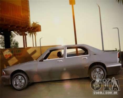 GTA III Kuruma para GTA San Andreas vista direita