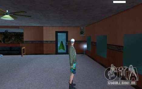 HD pele vagabundo para GTA San Andreas por diante tela