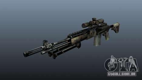 Rifle sniper M21 Mk14 v4 para GTA 4