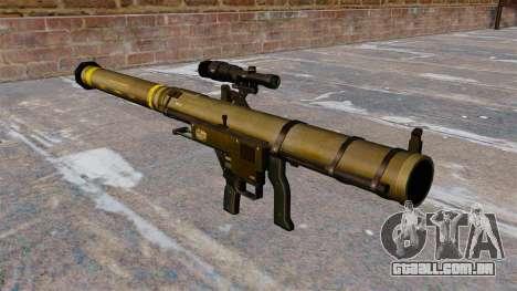 Lançador de granadas de ombro Mk153 SMAW Mod 0 para GTA 4