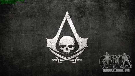 Telas de carregamento em Assassins Creed para GTA San Andreas segunda tela