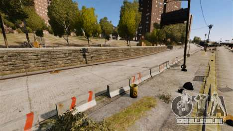 Liberty City Race Track para GTA 4 quinto tela