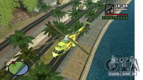 Beco em Los Angeles para GTA San Andreas terceira tela