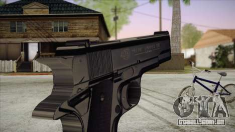 Colt Government 1911 para GTA San Andreas terceira tela