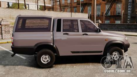 UAZ Patriot para GTA 4 esquerda vista