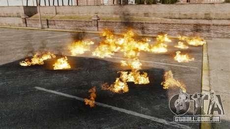 Novos efeitos da explosão e incêndio para GTA 4 segundo screenshot