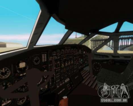 A Aeroflot an-12 para vista lateral GTA San Andreas