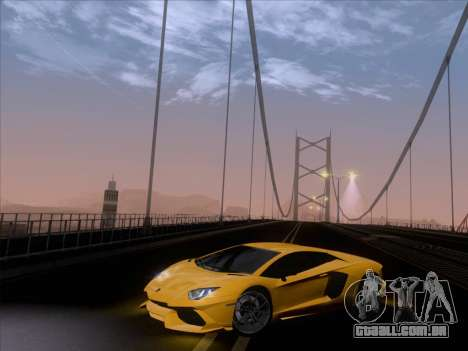 Lamborghini Aventador LP720-4 2013 para GTA San Andreas interior
