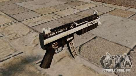 A pistola-metralhadora MP5 triturador de cabeça para GTA 4 segundo screenshot