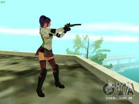 Juliet Starling para GTA San Andreas quinto tela
