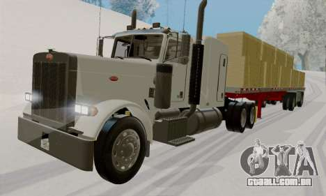 Peterbilt 379 Flat Top 2005 para GTA San Andreas