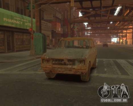 2140 AZLK s. l. a. t. k. e. R para GTA 4 vista de volta