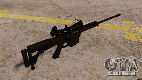 O rifle de Barrett M98B para GTA 4 segundo screenshot