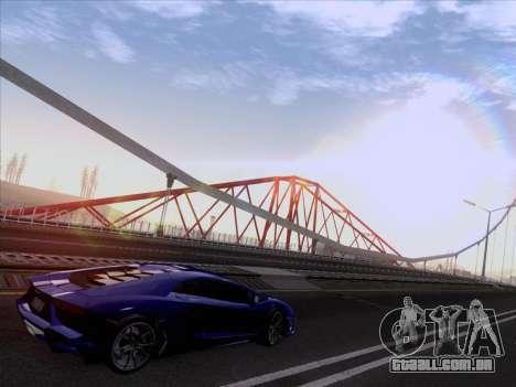 Lamborghini Aventador LP720-4 2013 para GTA San Andreas vista direita
