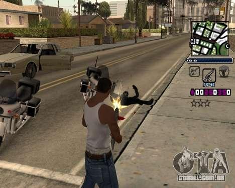 (C) HUD-por Gabbi_Stafford para GTA San Andreas segunda tela