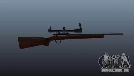 Esportes sniper fuzil Winchester Modelo 70 para GTA 4 terceira tela