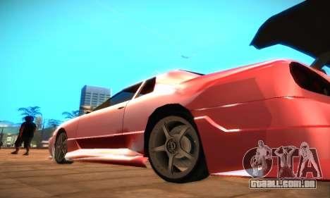 Elegy Hybrid para GTA San Andreas esquerda vista
