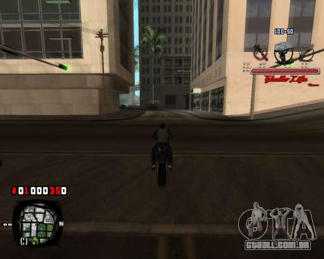 C-HUD Ghetto Live by Sanders para GTA San Andreas