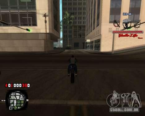 C-HUD Ghetto Live by Sanders para GTA San Andreas