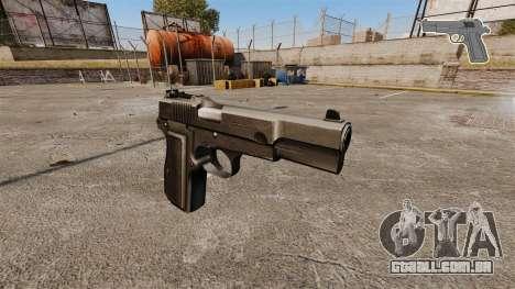 Carregamento automático pistola Browning Hi-Powe para GTA 4