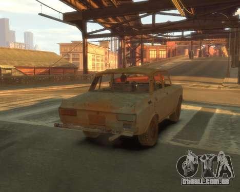 2140 AZLK s. l. a. t. k. e. R para GTA 4 vista interior