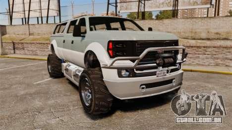 GTA V Vapid Sandking XL 4500 para GTA 4